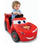 Power Wheels Lightning McQueen 6-Volt Battery-Powered Ride-On (Ages 12 mos - 3 years) Image 2 of 7