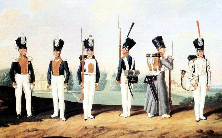 1 line infantry regiment  1 pułk piechoty liniowej po 1826 roku
