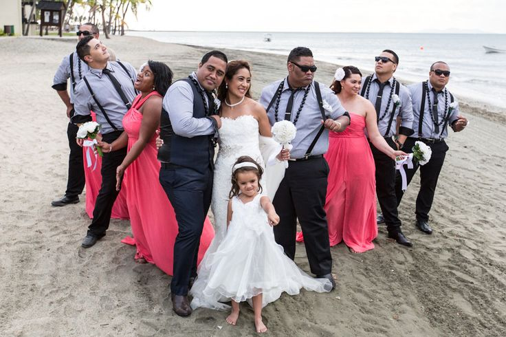 Florence and Max tied the knot at the Sofitel in #Fiji