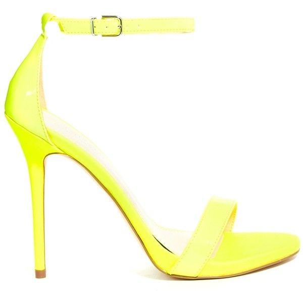 The 25  best Carvela neon yellow heeled sandals ideas on Pinterest ...