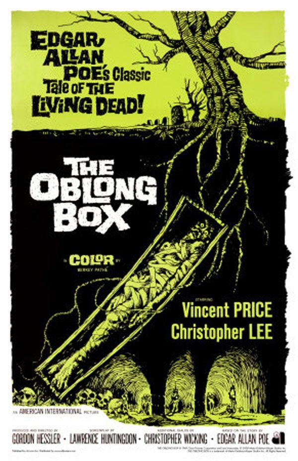 """The Oblong Box"" (1969) directed by Gordon Hessler, starring Vincent Price, Christopher Lee"