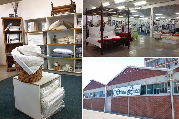 Kolnicks Linen - Cape Town factory shops - Photos by Rachel Robinson