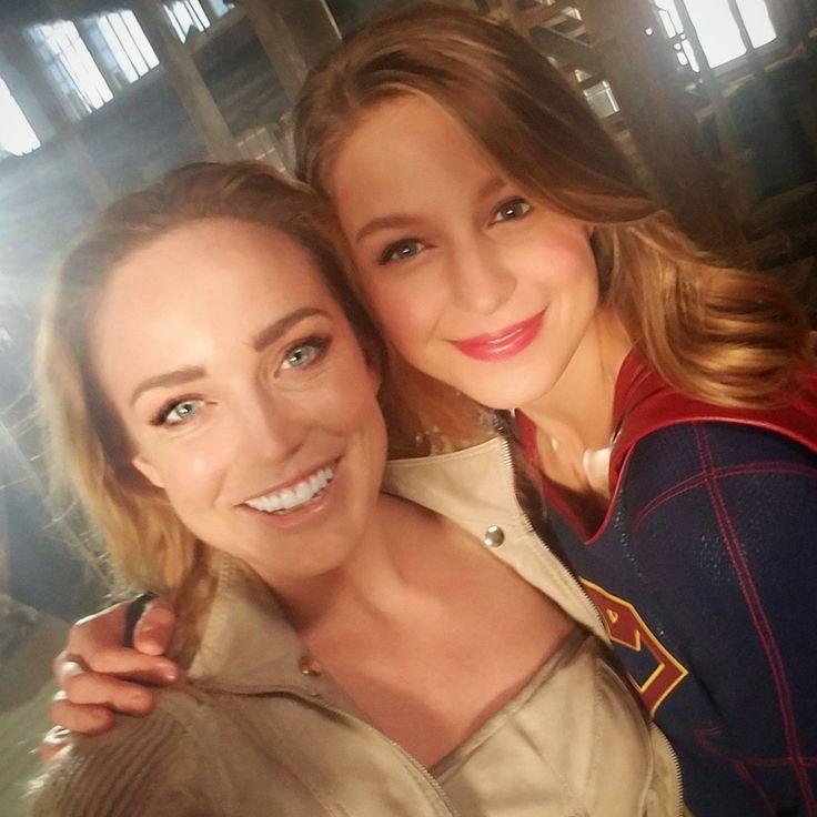 Caity & Melissa #Supergirl #LegendsofTomorrow Crossover