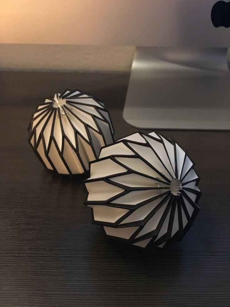 Origami Mini Paper Sculptures (Set of 6)
