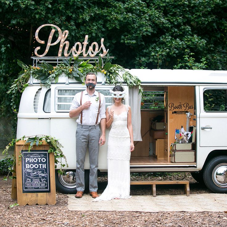 The Booth Bus is a unique vintage 1970 Volkswagen bus photo booth based in California. Available for weddings, parties, and corporate events!