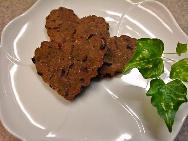 カカオクランベリーロークッキー