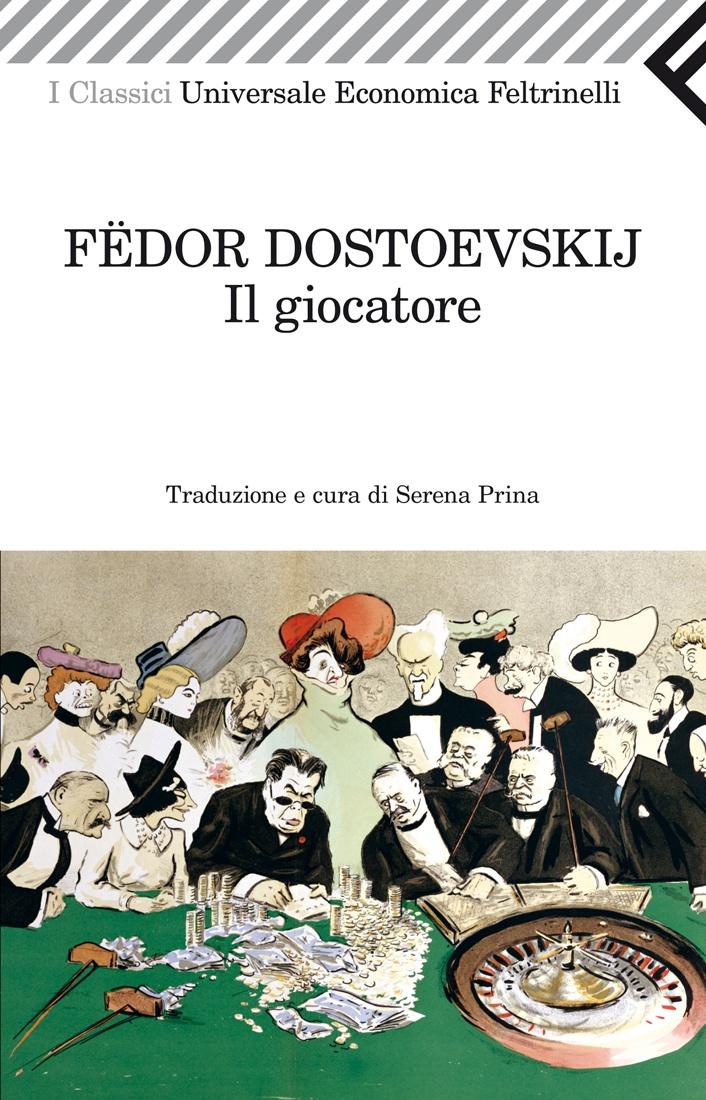 """Fëdor Dostoevskij, """"Il giocatore"""". Una vera e propria radiografia letteraria del vizio del gioco, un'istantanea dei modi in cui il demone dell'azzardo può possedere uomini e donne di ogni età ed estrazione sociale. Un'istantanea così vivida da spingere Sergej Prokofiev a trasporla in musica, dando vita a un caposaldo della lirica novecentesca."""