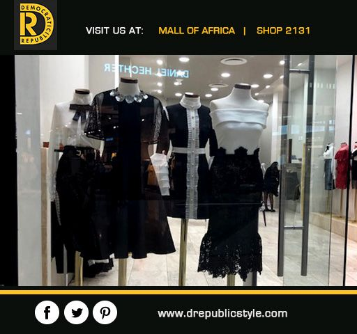 Fashions fade, style is eternal - Yves Saint-Laurent Find your Style @ Visit #DemocraticRepublic #MallOfAfrica