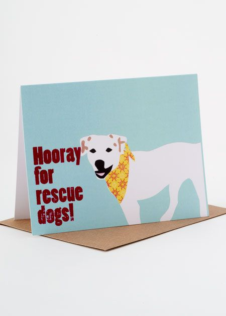 Write Dad a note and tell him why you appreciate him - Rescue Dogs Card Set. #ForDad #Gifts #FathersDay