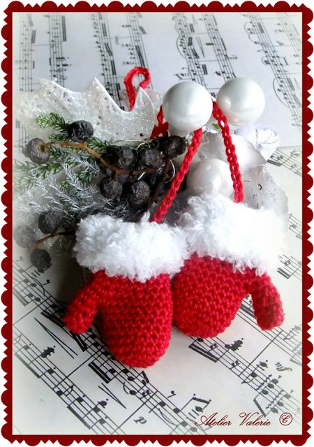Atelier Valerie: haken thema Kerst