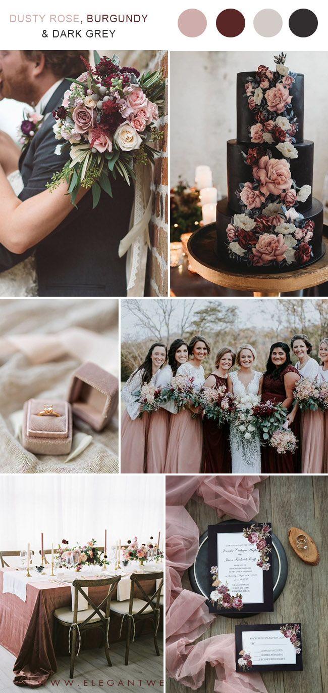 Trending 7 Gorgeous Dusty Rose Wedding Colors For Brides To Try In 2019 Elegantweddinginvites Com Blog Vintage Wedding Colors Dusty Rose Wedding Colors Rose Wedding