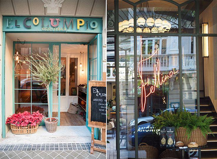 El Columpio and Fellina restaurants, two gems on Calle de Caracas (Chamberí)