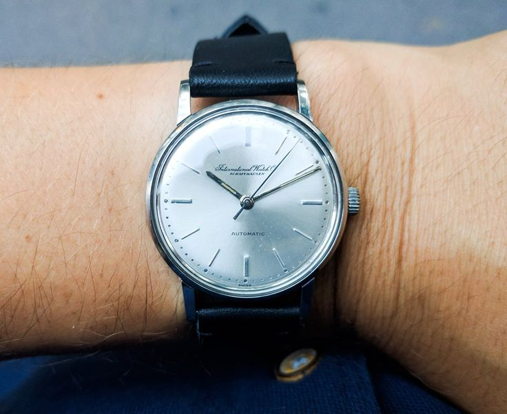 IWC automatic watch Classic look!