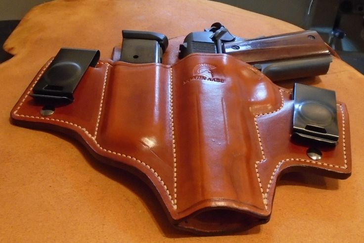 1911 Holster & Mag Pouch Combo | KeyStone Gun Leather ...
