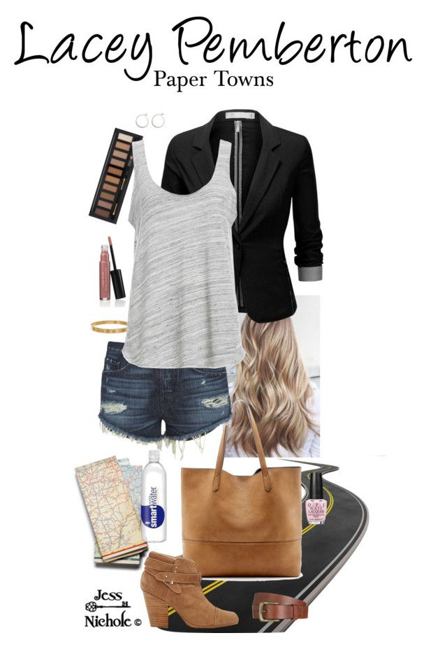 """""""Paper Towns: Lacey Pemberton"""" by jess-nichole ❤ liked on Polyvore featuring Cartier, Forever 21, Sole Society, J.TOMSON, 3x1, Project Social T, BP., OPI, Laura Geller and Will Leather Goods"""