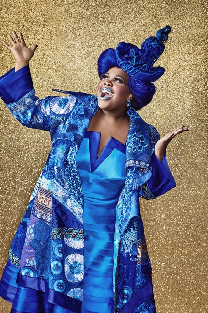 Amber Riley as Addaperle THE WIZ LIVE! -- Season: 2015 --Pictured: -- (Photo by: Paul Gilmore/NBC)