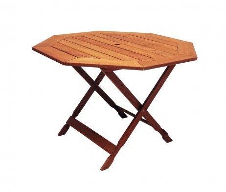 Para esas fiestas inesperadas tenemos para ti esta mesa octagonal plegable muy fácil de  armar.