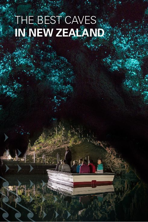 Discover limestone and captivating glowworms at New Zealand's BEST caves.