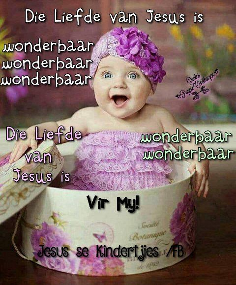 Christelike Boodskappies: Die Liefde van Jesus is Wonderbaar