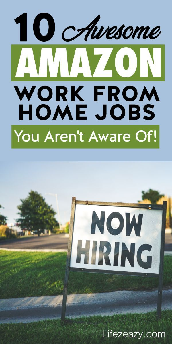 10 Unknown Amazon Work From Home Jobs You Weren T Aware Of Work