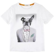 Billybandit - Tee-shirt en jersey de coton - Blanc - 102571