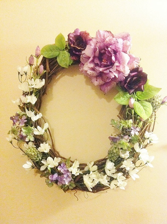 cute floral wreath