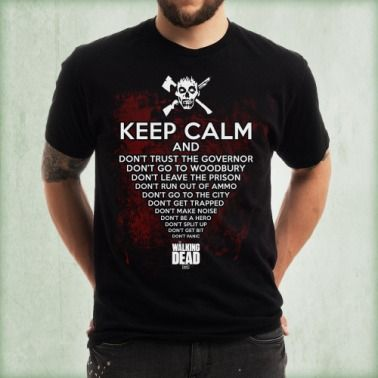 Keep Calm Zombie T-Shirt http://www.shopthewalkingdead.com/keep-calm-zombie-t-shirt/details/29305518?cid=social-pinterest-m2social-product&current_country=US&ref=share&utm_campaign=m2social&utm_content=product&utm_medium=social&utm_source=pinterest