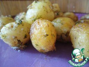 Молодой жареный картофель