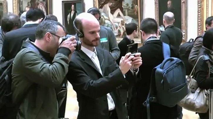 La Nintendo 3DS débarque au Louvre