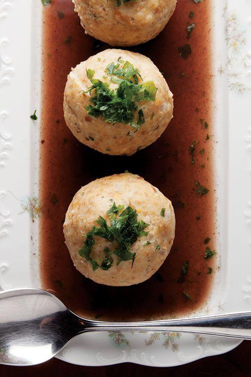 Semmelknödel (Bavarian Bread Dumplings) - recipe from Saveur.  Pinned by www.mygrowingtraditions.com