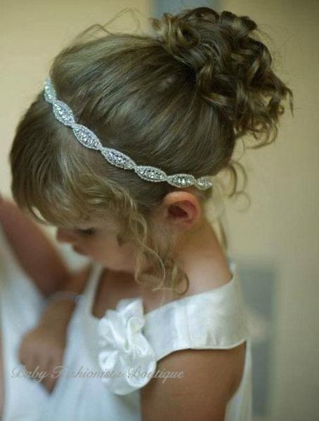 FlowerGirl Rhinestone headband