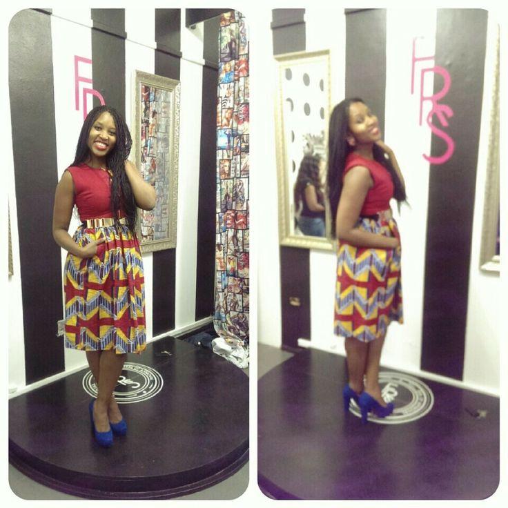 Dress from fabrosandz #ladieslovefabrosandz #fabrosandz #traditionalattire #tribalprint #africanprint