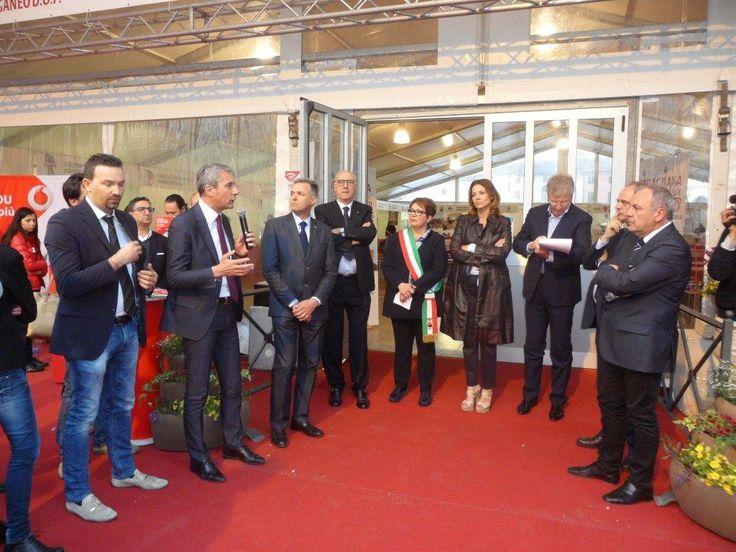 Venerdi scorso all'Inaugurazione di #Montagnana in Festa: Festa del Prosciutto Dop di Montagnana