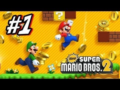▶ New Super Mario Bros 2 3DS - Part 1 World 1 - YouTube