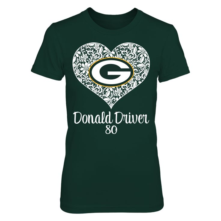 Green Bay Packers - Lace Heart - Donald Driver