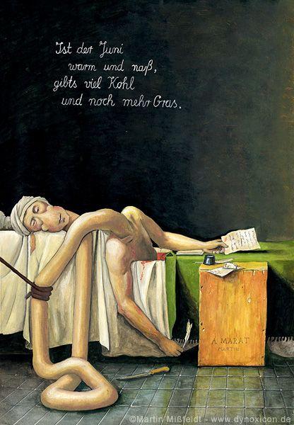 Martin Missfeldt, 2006: Death of Marat - after Jacques Louis David