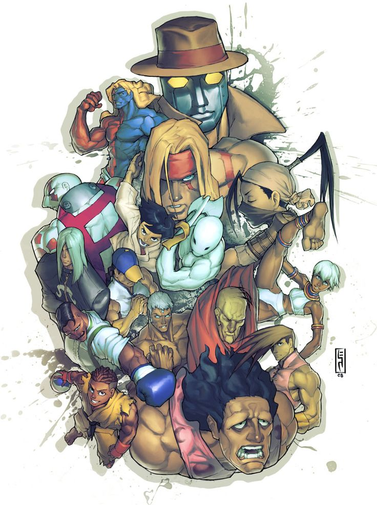 Street Fighter Tribute by Xeromander.deviantart.com on @deviantART