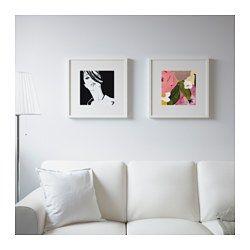 IKEA - TVILLING, Lámina, juego de 2, Personaliza tu hogar con objetos artísticos que expresen tu estilo.