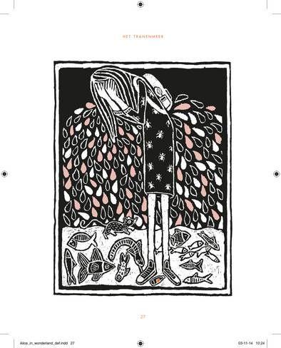 Illustrator Floor Rieder schiep een kleurrijke, dappere Alice | Boeken | de Volkskrant
