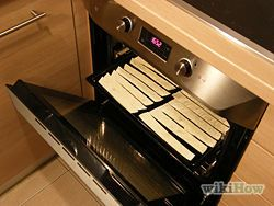Make Tortilla Strips - oven style