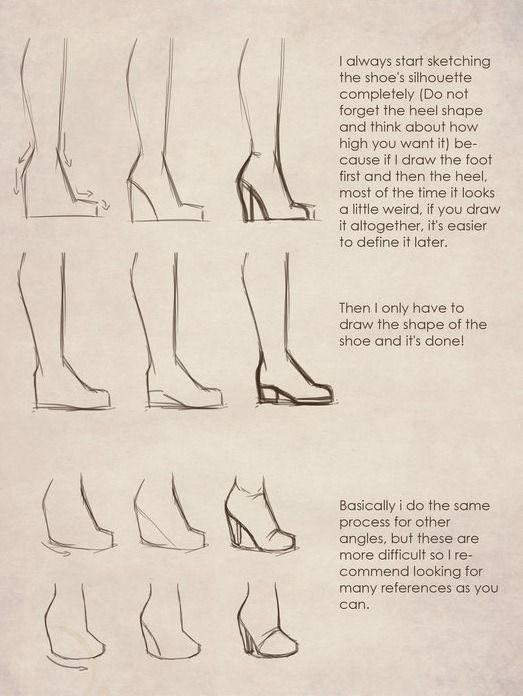 High Heel Tutorial