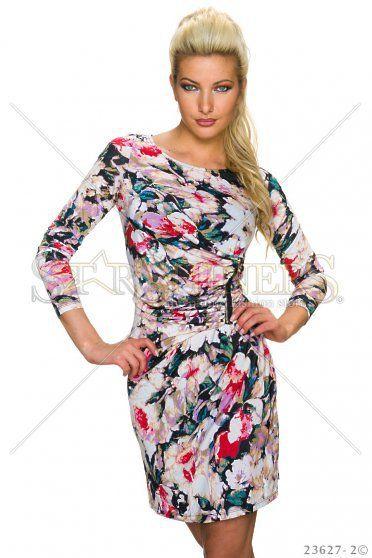 Splendid Cream Dress