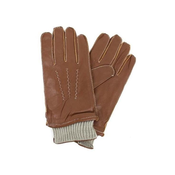 Men Brown Sheep Skin Leather Gloves 100% Leather Fully Lined Large NWT NEW #Simi #EverydayGloves