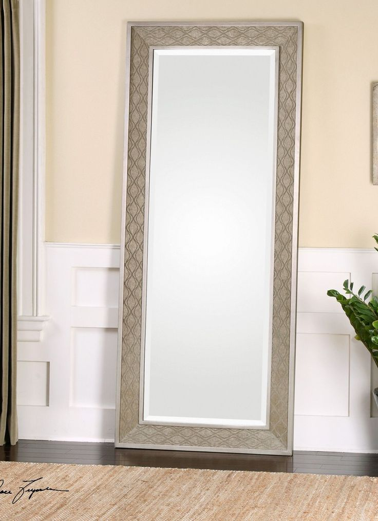 "FineHomeLamps.com - Masone Leaner Mirror by Uttermost - 34"" x 82"", $547.81 (http://www.finehomelamps.com/masone-leaner-mirror.html/)"