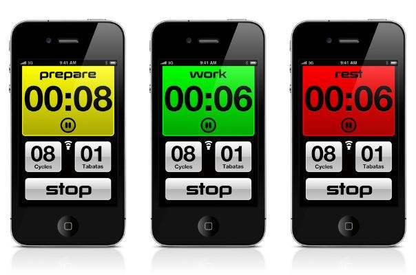 10 Interval Training mobile apps. Great for Tabatas!