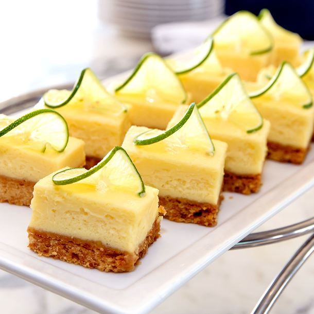 Petits cheesecakes au citron vert