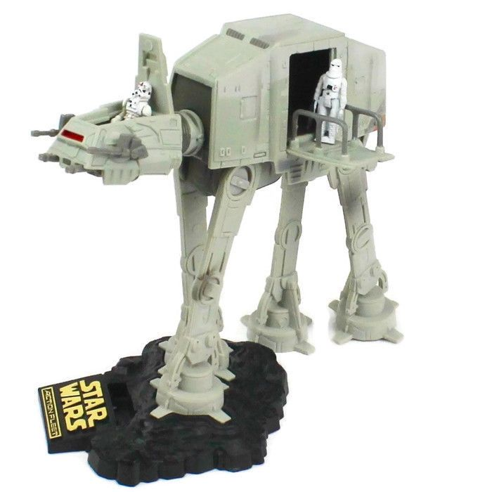 STAR WARS Action Fleet IMPERIAL AT-AT WALKER Micro Machines 1995 Galoob Complete #Galoob