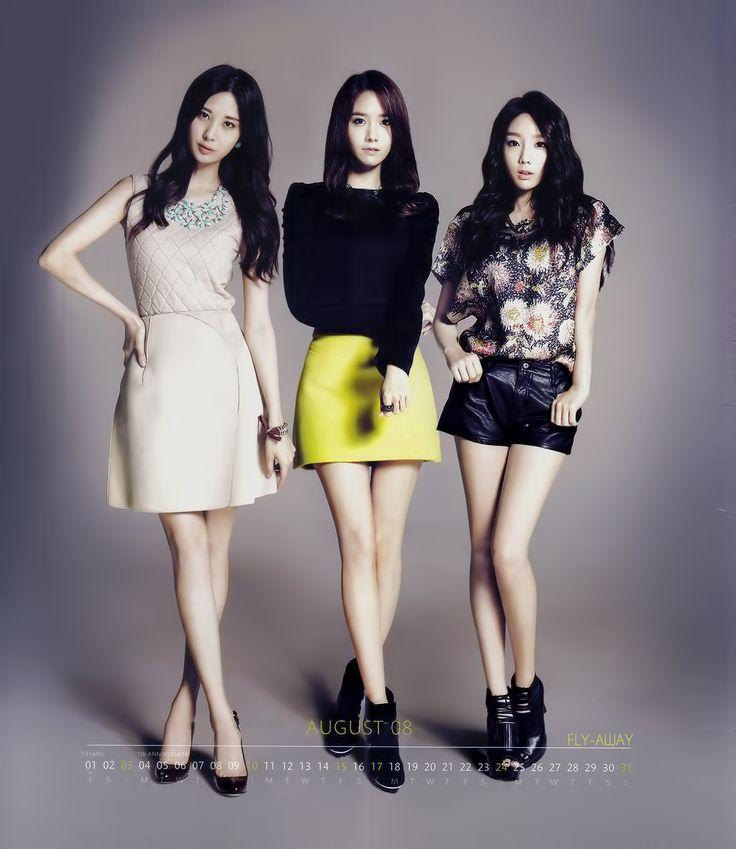 SNSD SeoHyun, YoonA and TaeYeon / Calendar 2014