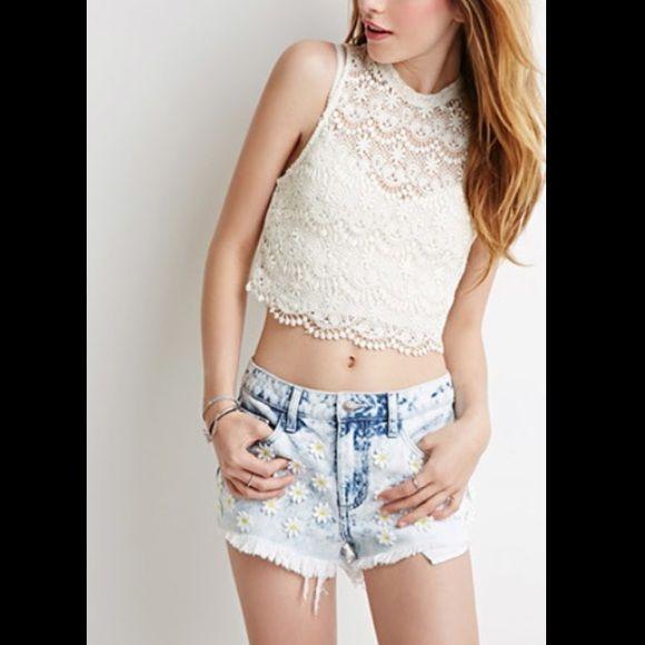 Daisy shorts Newwww Shorts Jean Shorts