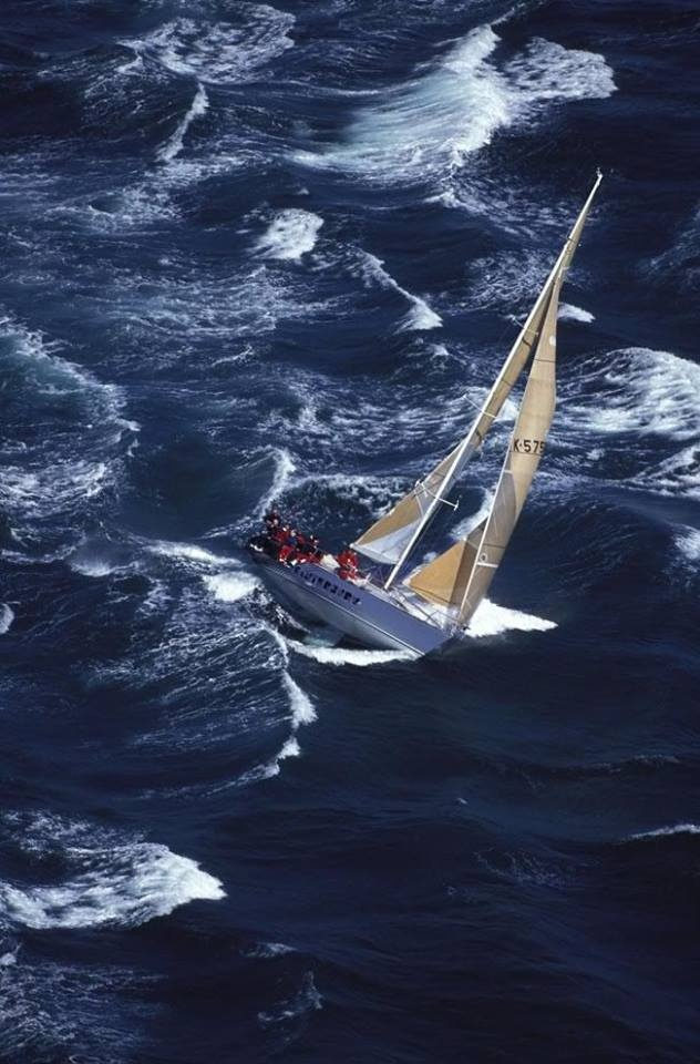 """Sailing beats out any roller coasters ride.  The captain yells, """"Tacking, prepare to surf,"""" as another wave pounds over the bow."""